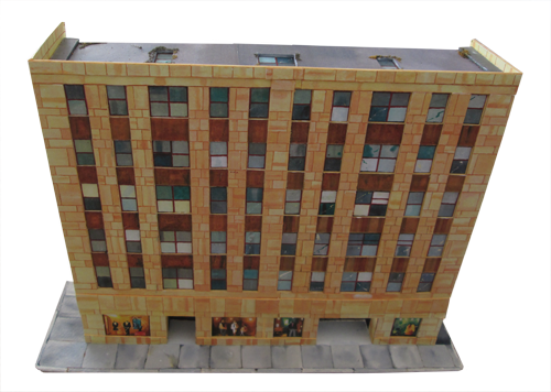 picture relating to Printable Model Railroad Buildings identify Print out landscapes for your fashion railroad