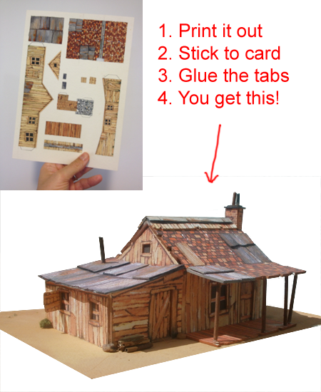 Print out scenery for your model railroad - Printable ho scale building interiors ...